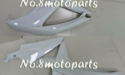 Fit for GSX-R 600 750 K8 2008 2009 2010 Left Right Side Fairings Pearl white a24