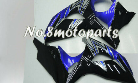 Fit for 2009-2016 GSXR 1000 K9 Blue Black Injection Left Right Side Fairings a04