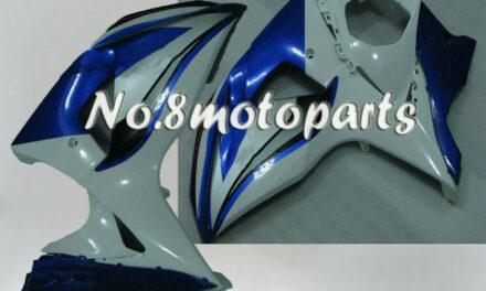 Fit for 2009-2016 GSXR 1000 K9 Injection Left Right Side Fairings Blue White New