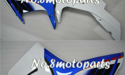 Fit for 2011-2018 GSXR 600 750 Left Right Side Fairings Blue White ABS New a20