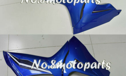 Fit for 2011-2018 GSXR 600 750 Left Right Side Fairings Blue Injection ABS a28