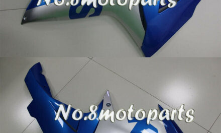 Fit for 2011-2018 GSXR 600 750 Left Right Side Fairings Blue Silver ABS New a22