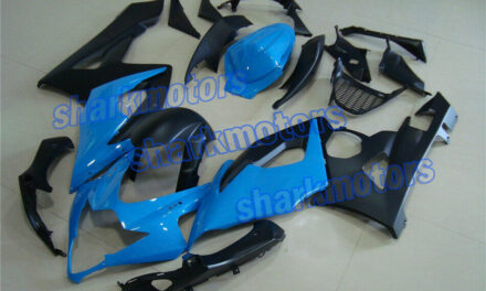 Fairing Blue Black Injection ABS Plastic Kit Fit for 2005-2006 GSX-R 1000 k5 aB1
