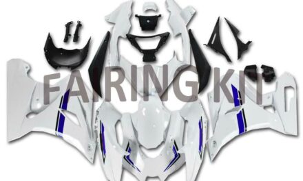 FK Injection Plastic ABS White Fairing Fit for Suzuki 2017-2019 GSXR 1000 a002