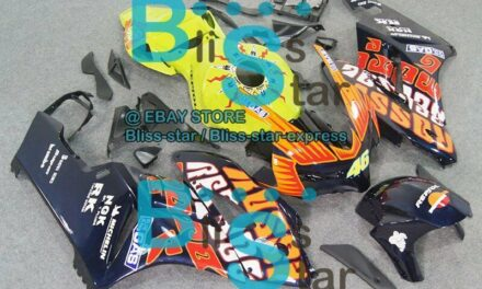 Decals INJECTION Fairing Kit Fit Honda CBR1000RR 2004-2005 123 A6