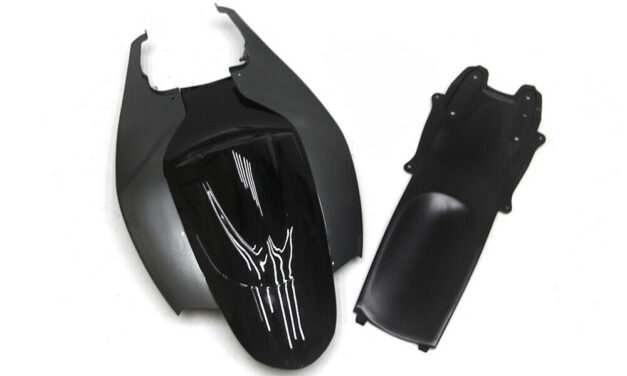 Back Tail Black Fairings For Suzuki 2006 2007 GSXR 600 750 K6 ABS Injection Mold