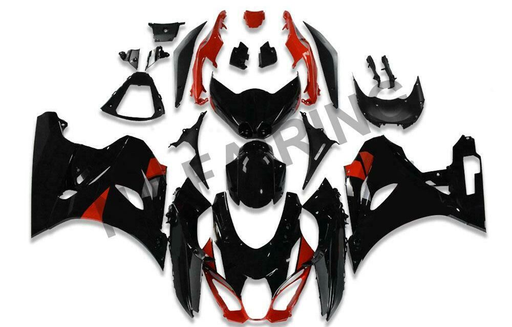 Fit for Suzuki 2017-2019 GSXR 1000 Plastic Injection Mold Red Fairing a007