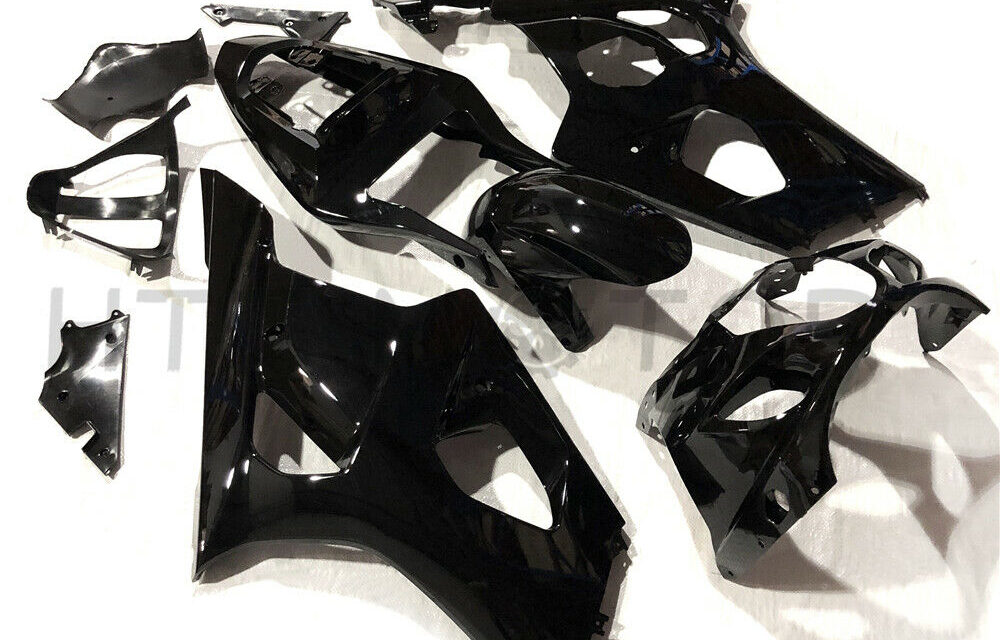 Aftermarket ABS Fairing Fits Suzuki GSXR1000 2003-2004 Gloss black color inject