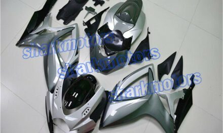 Fairing Silver grey Black Injection ABS Fit for 2006-2007 GSX-R 600/750 K6 aE2