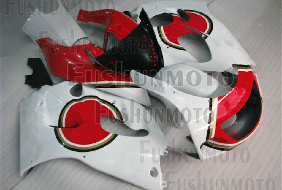 Red White ABS Complete Fairing Kit Fit for 1996-2000 GSXR 600 GSXR 750 a12
