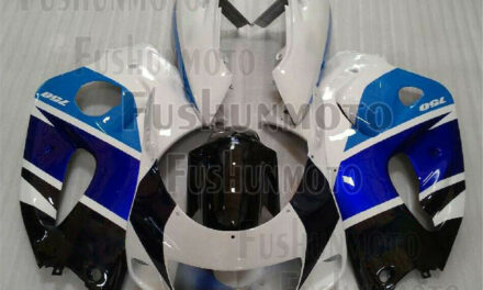 Blue White Black ABS Complete Fairing Kit Fit for 1996-2000 GSXR 600 GSXR 750 a8