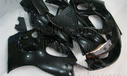 Glossy Black ABS Complete Fairing Kit Fit for 1996-2000 GSXR 600 GSXR 750 a07
