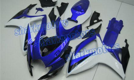 Fairing Black Blue White ABS Injection Set Fit for 2006-2007 GSXR 600/750 K6 aD6
