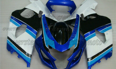 Injection Fairing Fit for 2004-2005 GSX-R 600 750 Mold ABS White Blue Black aBC
