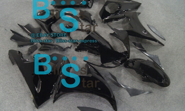 All Black INJECTION Fairing Fit Yamaha YZFR6 2003-2005 R6S 2006-2009 62 A4