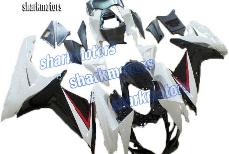 Fairing Injection Plastic Fit for 2011-2020 GSXR 600 750 K11 Black White uD2