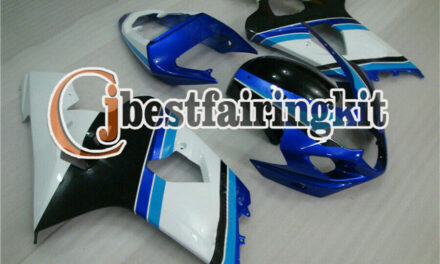 Fit for 2004 2005 GSXR 600 750 04 K4 Fairing Injection White Blue Black New a#27