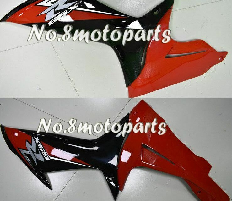 Fit for 2011-2018 Suzuki GSX-R 600 750 K11 Black Red Left Right Side Fairing a02