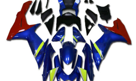 Injection Mold Blue Red  Fairing Fit for SUZUKI 2011-2020 GSXR 600/750 a044
