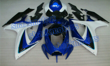Fairing Blue White Black Injection Molding Fit for 2006-2007 GSXR 600/750 K6 aE4