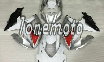 Fit for 2008-2010 GSX-R 600 750 K8 Injection Fairing White Red Silver Black #Bb