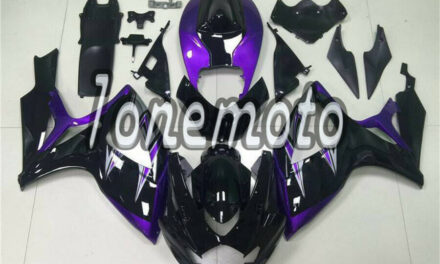 Fit for GSXR 600 750 2006 2007 K6 Black Purple ABS Injection Mold Fairing #Bl