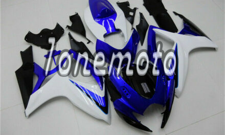 Fit for GSXR 600 750 2006 2007 K6 Injection Mold Fairing White Blue Black #Ap