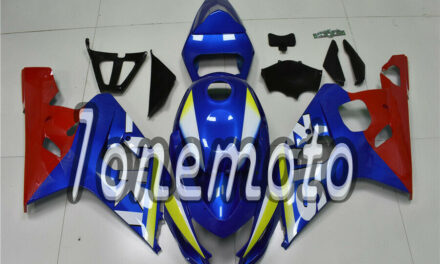 Fit for 2004 2005 GSXR 600 750 ABS Injection Mold Fairing Bodywork 04 05 K4 #Bw