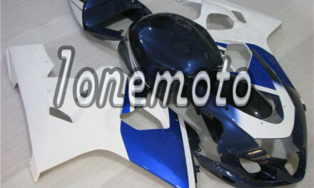 Fit for 2004-2005 GSXR GSX-R 600 750Complete Blue White Injection Fairing Kit