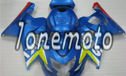 Fit for 2004 2005 GSXR 600 750 K4 Plastic ABS New Injection Mold Fairing#Aw