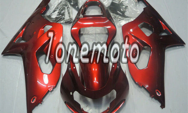 Fit for GSX-R 600 750 2001 2002 2003 K1 Pearl red Injection ABS Mold Fairing #Ar