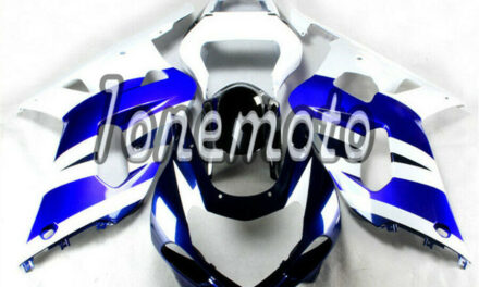 Fit for GSX-R 600 750 2001-2003 K1 Blue White ABS Injection Mold Fairing Kit #Ap