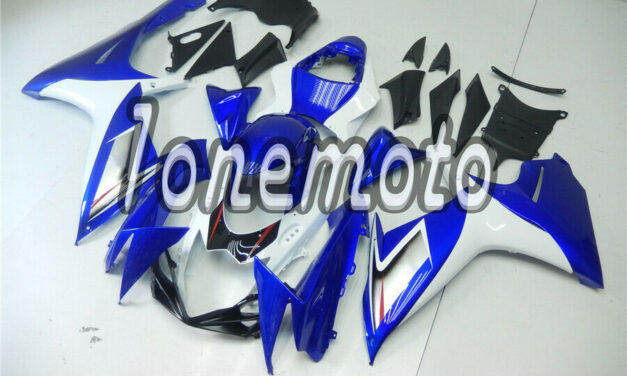 Fit for 2011-2018 GSX-R 600 750 K11 Injection Plastic Fairing White Blue Red #Ag