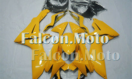 Yellow ABS Injection Bodywork Set Fairing Fit for GSXR 600 750 2011-2019 K11 aAC