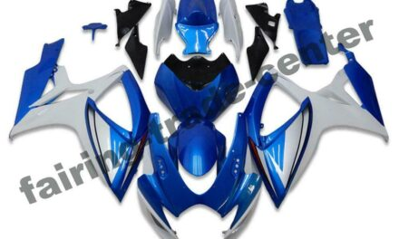 FTC Injection Kit Blue Fairing Fit for Suzuki 2006 2007 GSXR 600 750 a092
