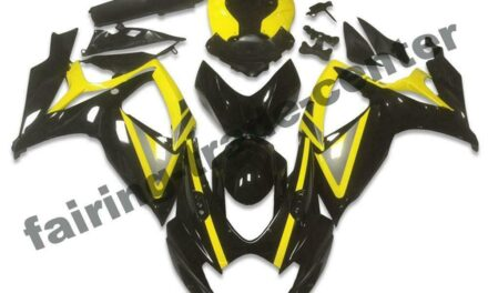 FTC Injection Mold Black Fairing Fit for Suzuki 2006 2007 GSXR 600 750 a038