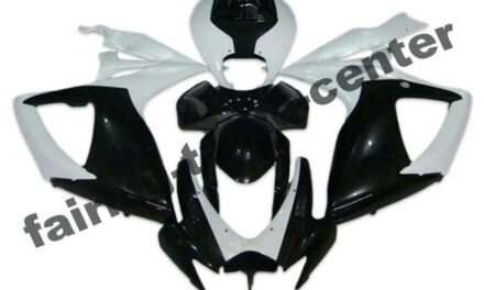 FTC Injection White Black ABS Fairing Fit for Suzuki 2006 2007 GSXR 600 750 a050