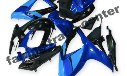 FTC Injection Blue Plastic ABS Fairing Fit for Suzuki 2006 07 GSXR 600 750 a045