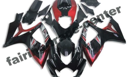FTC Injection Mold Black ABS Fairing Fit for Suzuki 2006 2007 GSXR 600 750 a0102