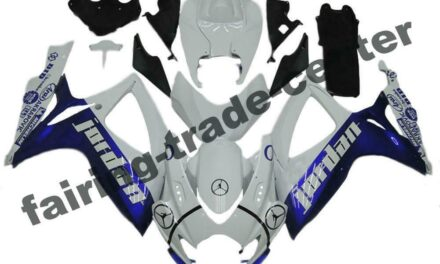 FTC Injection Mold Blue Fairing Kit Fit for Suzuki 2006 2007 GSXR 600 750 a043