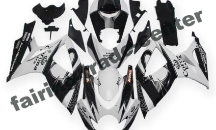 FTC Injection White Black ABS Fairing Fit for Suzuki 2006-2007 GSXR 600 750 a010