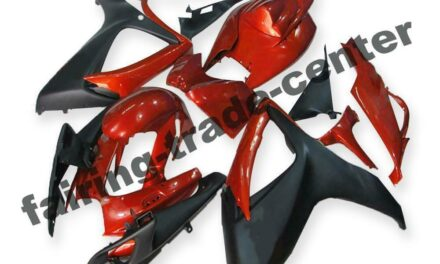 FTC Injection Red Plastic Fairing Fit for Suzuki 2006 2007 GSXR 600 750 a028