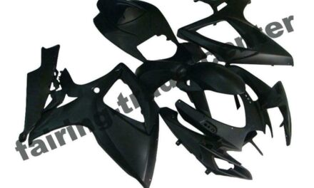 FTC Injection Black ABS Fairing Fit for Suzuki 2006 2007 GSXR 600 750 a057