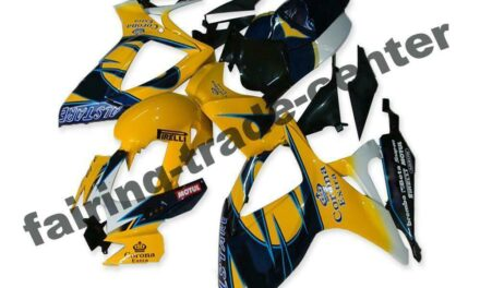 FTC Injection Yellow Plastic Fairing Fit for Suzuki 2006 2007 GSXR 600 750 a027