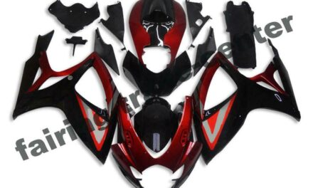 FTC Injection Red Black ABS Fairing Fit for Suzuki 2006 2007 GSXR 600 750 a0103