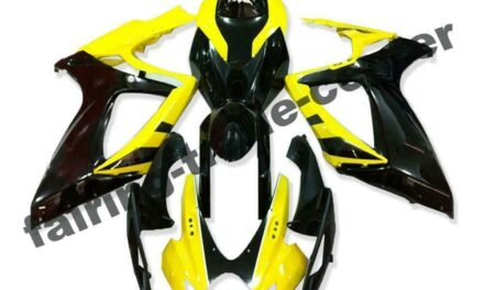 FTC Injection Yellow Black Fairing Fit for Suzuki 2006 2007 GSXR 600 750 a071