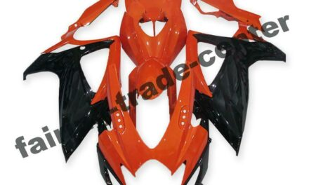 FTC Injection Red Black Fairing Fit for Suzuki 2006 2007 GSXR 600 750 a083