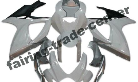 FTC Injection White ABS Plastic Fairing Fit for Suzuki 2006 07 GSXR 600 750 a077