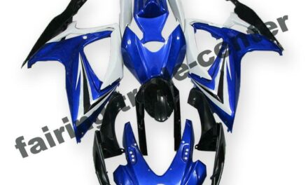 FTC Injection White Blue ABS Fairing Fit for Suzuki 2006 2007 GSXR 600 750 a065