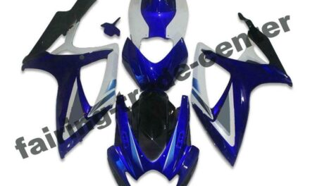 FTC Injection Blue Plastic Fairing Fit for Suzuki 2006 2007 GSXR 600 750 a041